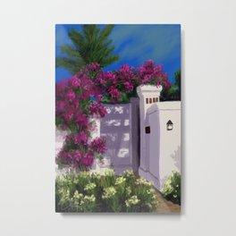 Santa Barbara Bougainvillea DP150606a Metal Print