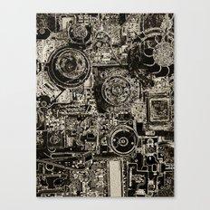 Electric Maze Canvas Print