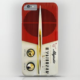 My Grand Father Classic Old vintage Radio iPhone Case