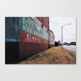 Hog Ration Canvas Print