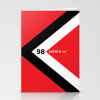 f1 Stationery Cards featuring F1 2015 - #98 Merhi by MS80 Design