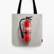 Firefighter Tote Bag