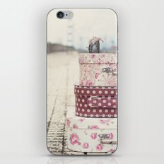 Vintage travel iPhone & iPod Skin