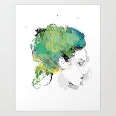 Mellow Art Print