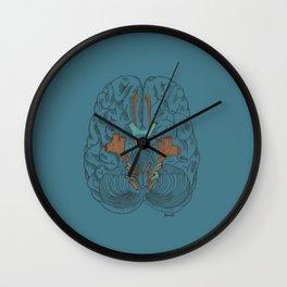Brain Wall Clock