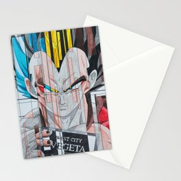 Prince Vegeta's Mugshot Stationery Cards