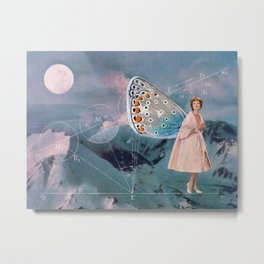 Becoming (A Butterfly) Metal Print