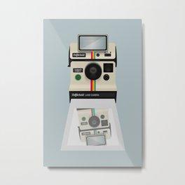 Selfieroid Metal Print