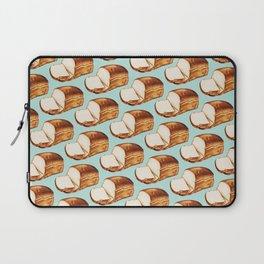 Bread Pattern Laptop Sleeve