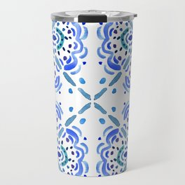 Amalfi Tile Travel Mug
