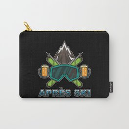 Apres Ski Team - Skiing And Snowboarding Carry-All Pouch