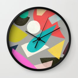 colored toys 1 Wall Clock