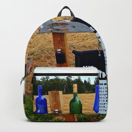 Gar's Weather Forecasting Stone Backpack