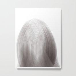 Algorithmic Portrait: Liza Metal Print