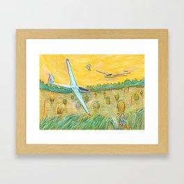 Flying Dreams Framed Art Print