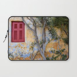 Colorful Exterior in Athens, Greece Laptop Sleeve