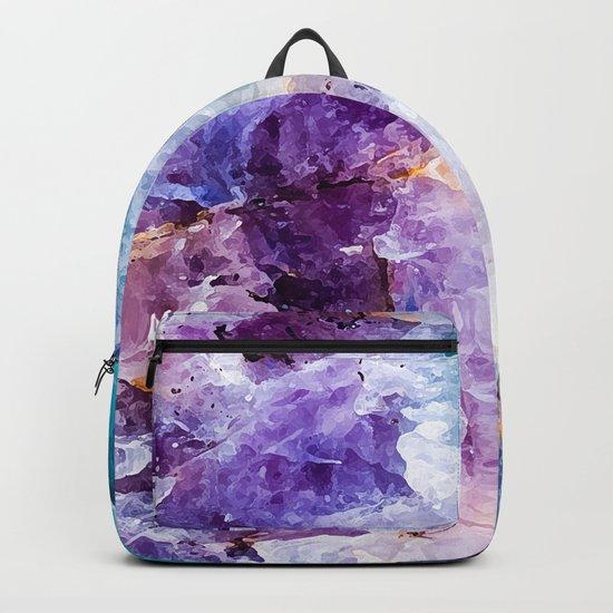 Multicolor quartz texture Backpack