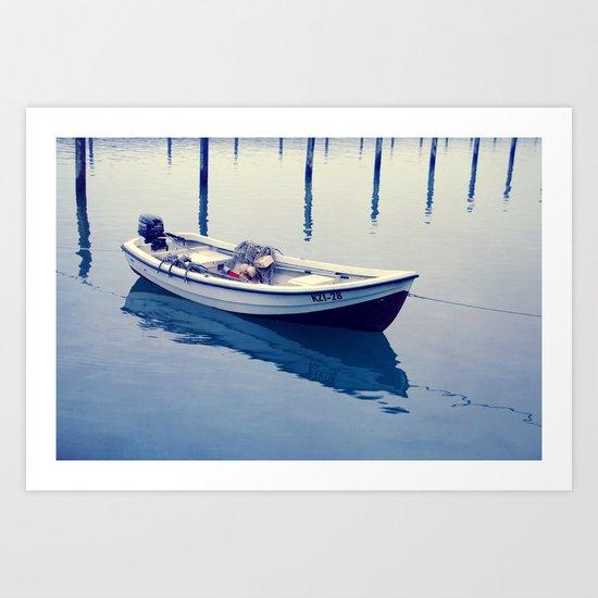 silence on water Art Print
