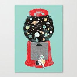My childhood universe Canvas Print