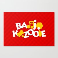Banjo-Kazooie - Red Canvas Print