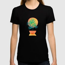 Summer Eclipse / Mid Century Abstract Shapes T-shirt
