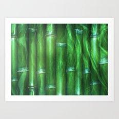 Bamboo Art Print