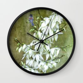 Flowers at my Door Wall Clock