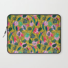 Cool summer in the mustard Laptop Sleeve