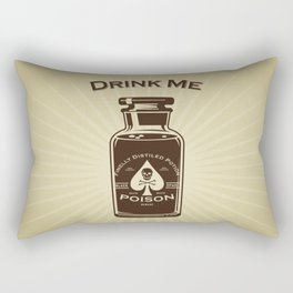 Drink Me! Rectangular Pillow