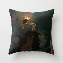 The Cask of Amontillado Throw Pillow