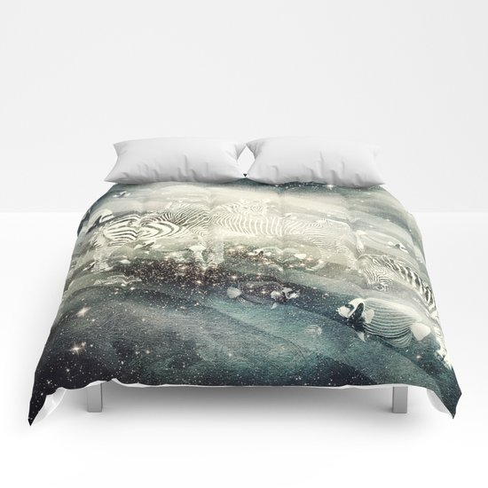 Zebra Way Comforters