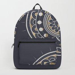 Winter Moon Mandala Backpack