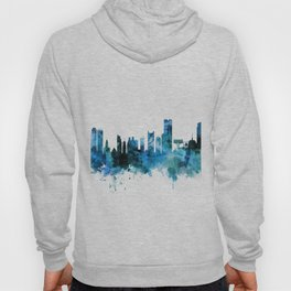 Boston Massachusetts Skyline Hoody