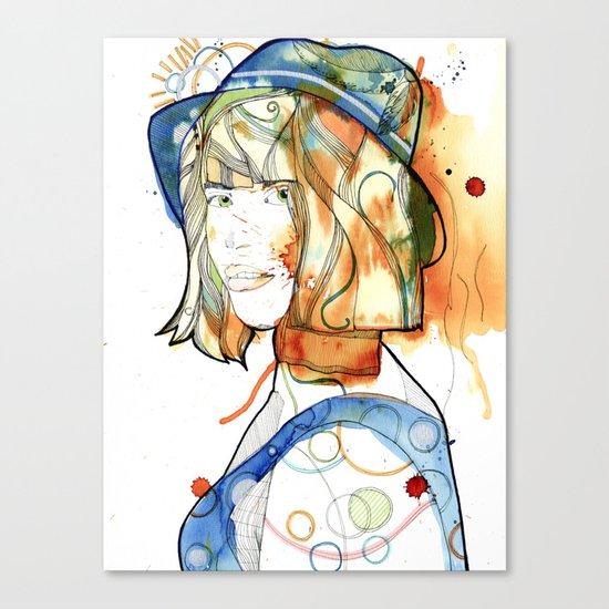 Portraits, Ann. Canvas Print