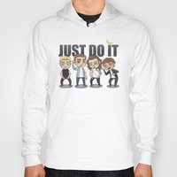 cyrilliart Hoodies featuring Just 1Do It by Cyrilliart