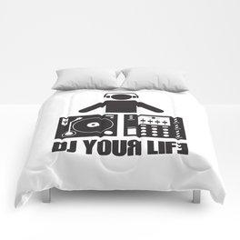 DJ your life Comforters