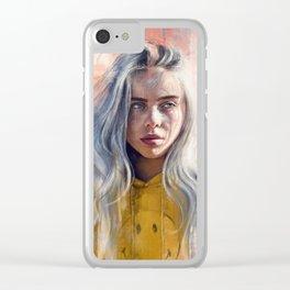 Billie Eilish Clear iPhone Case