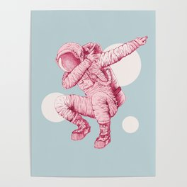 Astro Dab Poster