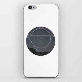 Spinning Universe - Geometric Photography iPhone Skin