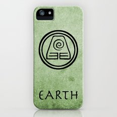 Avatar Last Airbender Elements - Earth iPhone (5, 5s) Slim Case