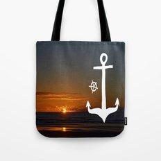 Anchors at Sea Tote Bag