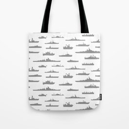Battleship // Grey Tote Bag