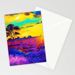 Tardis Art Starry Tree Stationery Cards