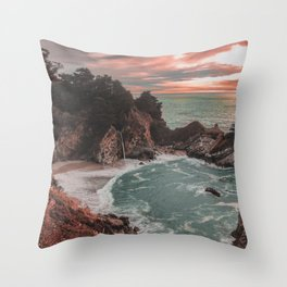 Big Sur California Throw Pillow