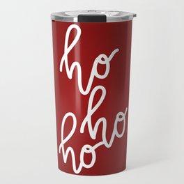 HoHoHo Merry Christmas Travel Mug