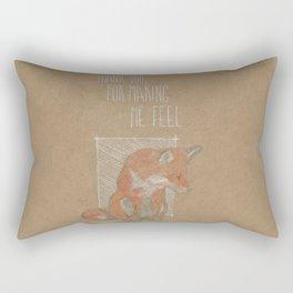 MAKING ME FELL Rectangular Pillow