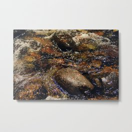 Stream and Stones Metal Print
