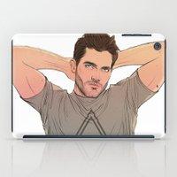 derek hale iPad Cases featuring Derek Hale by DakotaLIAR