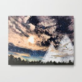 My Imaginations Sunset Metal Print
