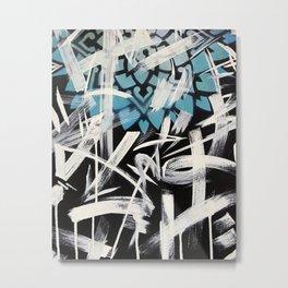 Free Form Mandala Metal Print